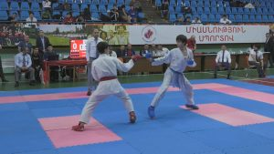 Cadets, youngsters and up to 21-year adults 31th Karate Championship of Armenia